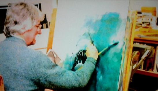 Kastel rendering the shark.