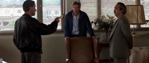Joaquim de Almeida, Harrison Ford, Miguel Sandoval (Paramount  Pictures)