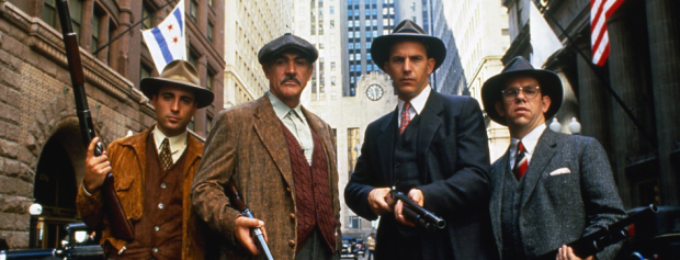 Andy Garcia, Sean Connery, Kevin Costner, Charles Martin Smith (Paramount Pictures)