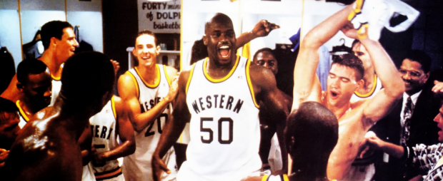 Center: Shaquille O'Neil (Paramount Pictures)
