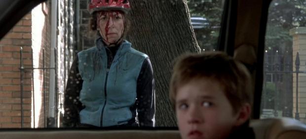 Foreground: Haley Joel Osment (The Sixth Sense)