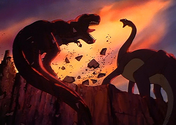 That Moment In 'The Land Before Time' and Why Littlefoot's Mother's