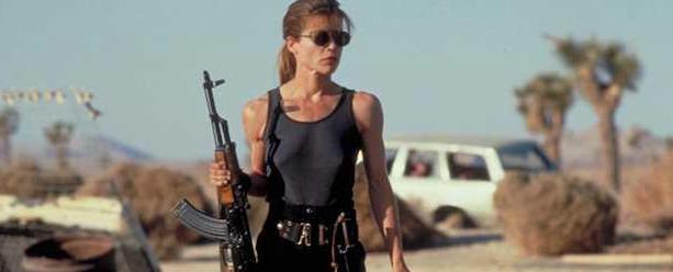 Linda Hamilton as Sarah Conner (TriStar Pictures)